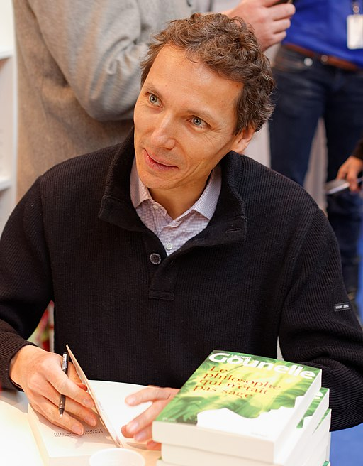Laurent Gounelle, salon du livre de Paris, 2013