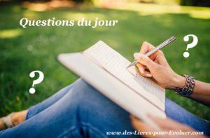 Questions du jour sur les livres de Laurent Gounelle