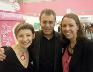 Salon-Medecine-douce-2012-JMCohen-Cecile-Neuville-Anelor-Dabo