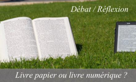 Livre numérique ou livre papier ?
