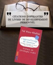 25 citations du livre «L'apprentissage du Bonheur» de Tal Ben Shahar