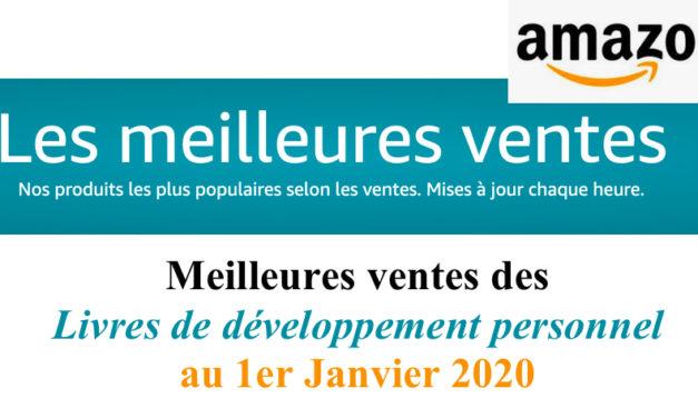 Meilleures ventes de livres de Développement personnel sur Amazon – 1er janvier 2020